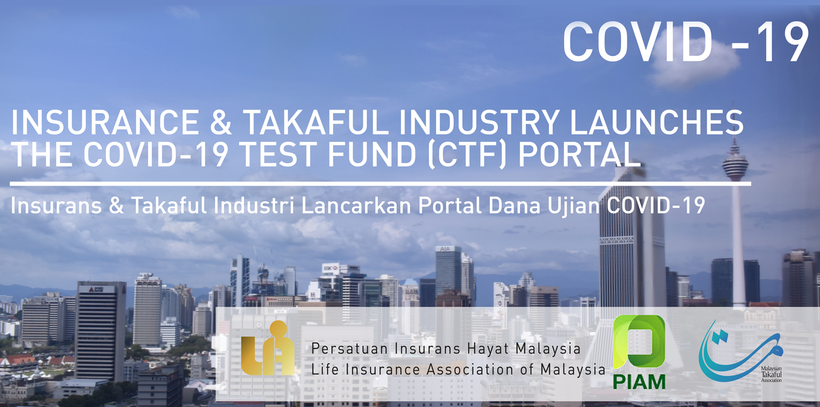 Insurance Takaful Launches the COVID 19 Test Fund